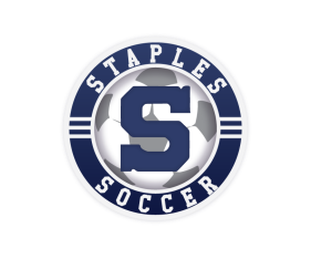 Staples Soccer decal